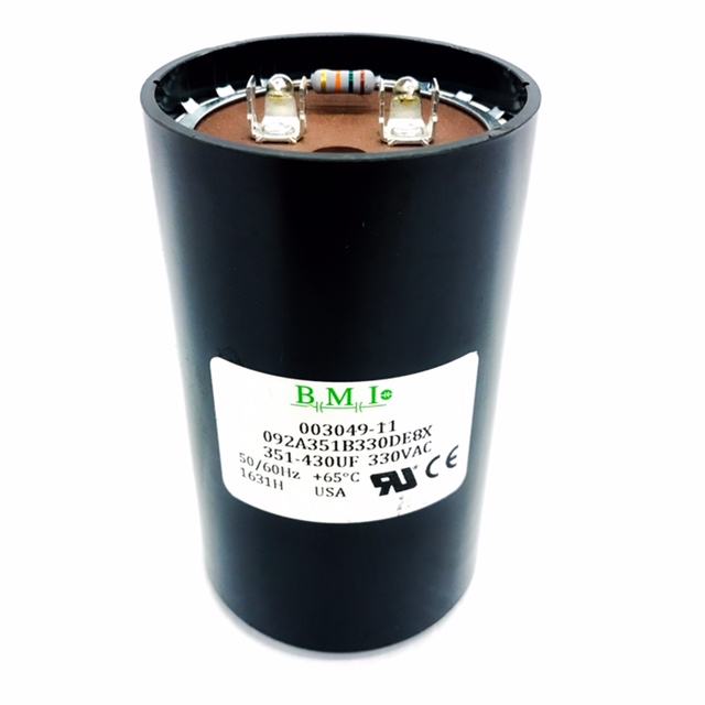 003049.11 Leeson Start Capacitor, Mfd 351-430 uF 1
