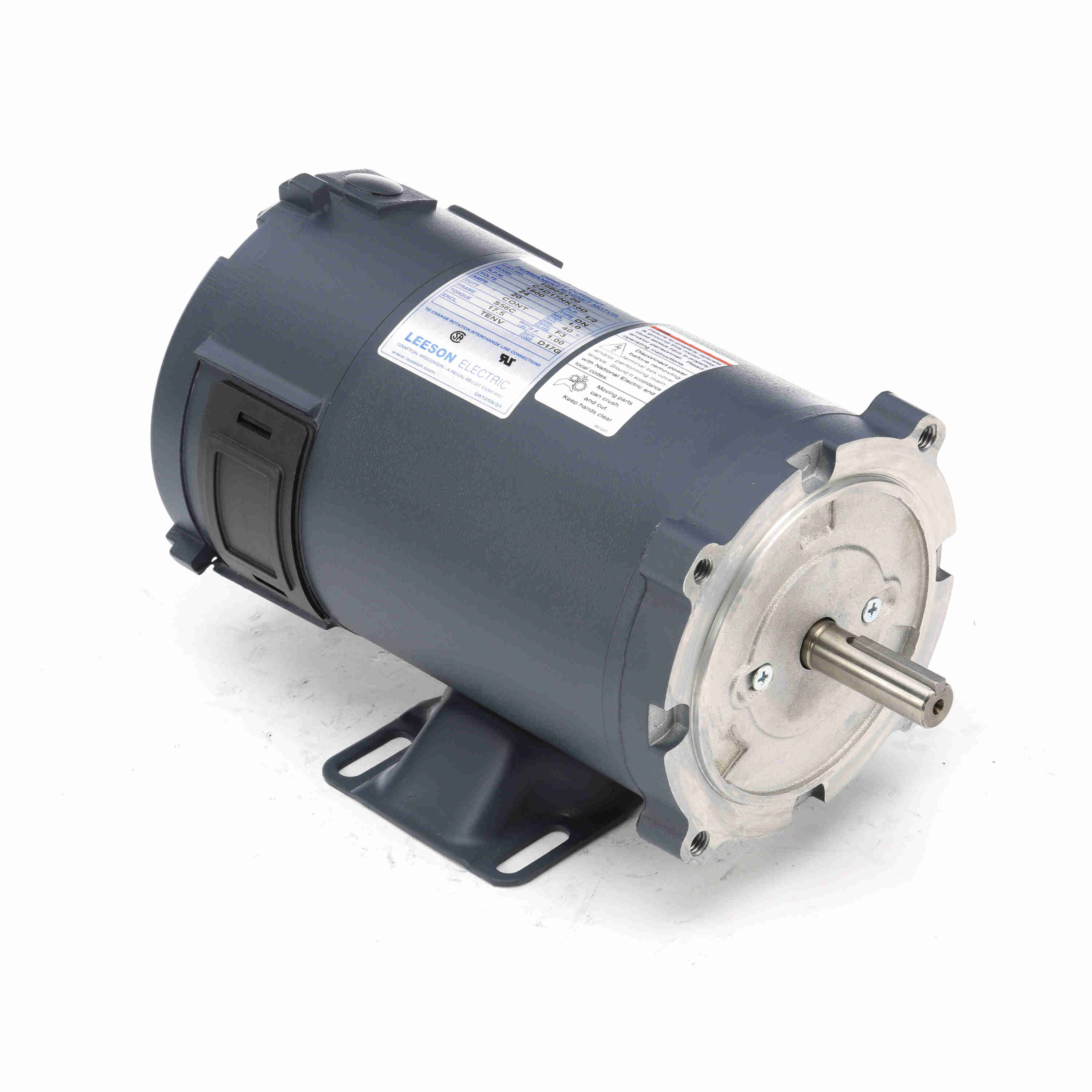 108051 00 Leeson 1  2hp Dc Electric Motor  1800 Rpm
