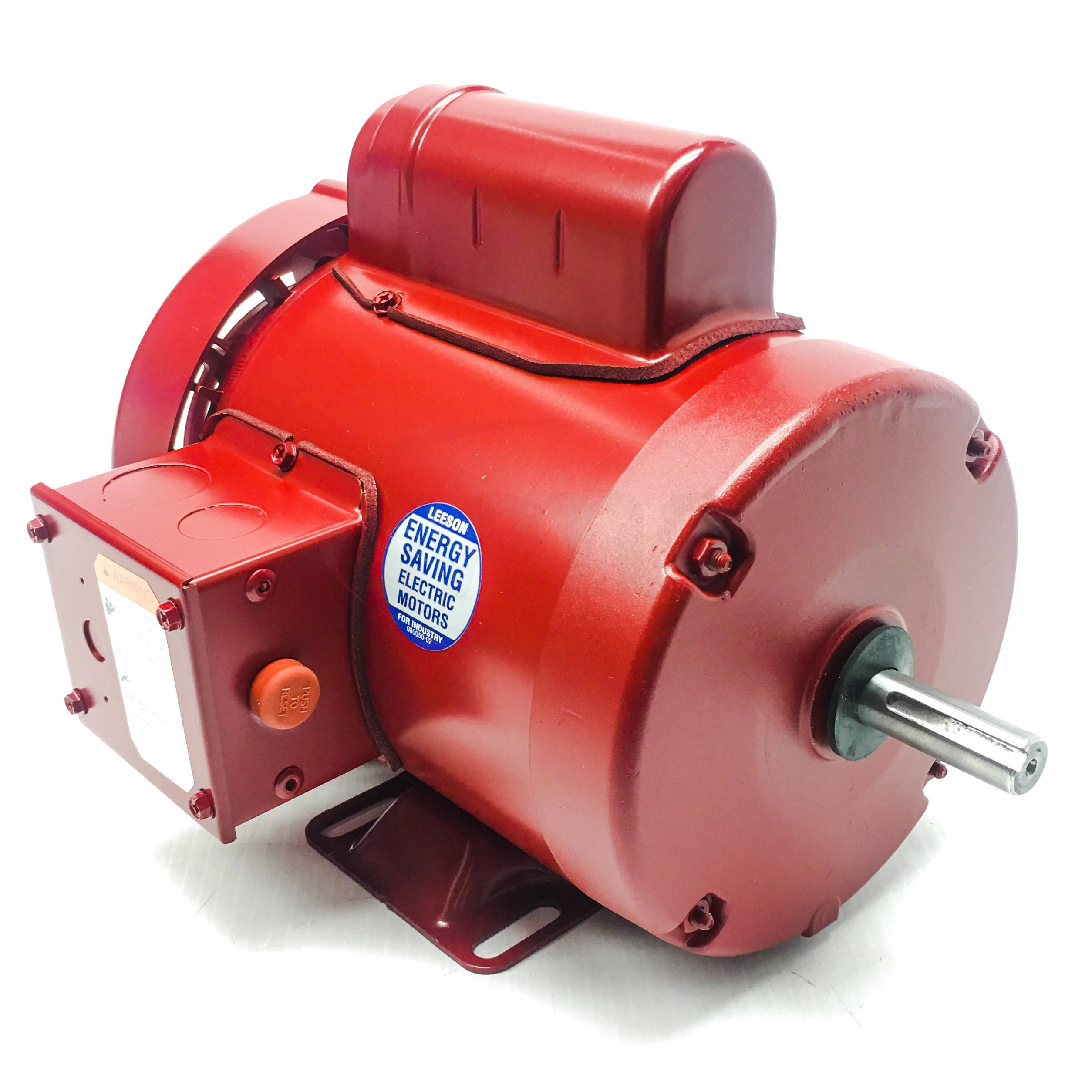 Leeson Farm Duty Electric Motor Model Number M6C17FB11 1//2 HP Single Phase 115//208-230 Volts 1,725 RPM