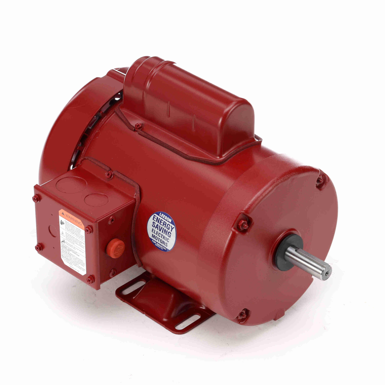 110088 00 1hp leeson farm duty electric motor rh witmermotorservice com Leeson Pump Parts Leeson Hydraulic Pump