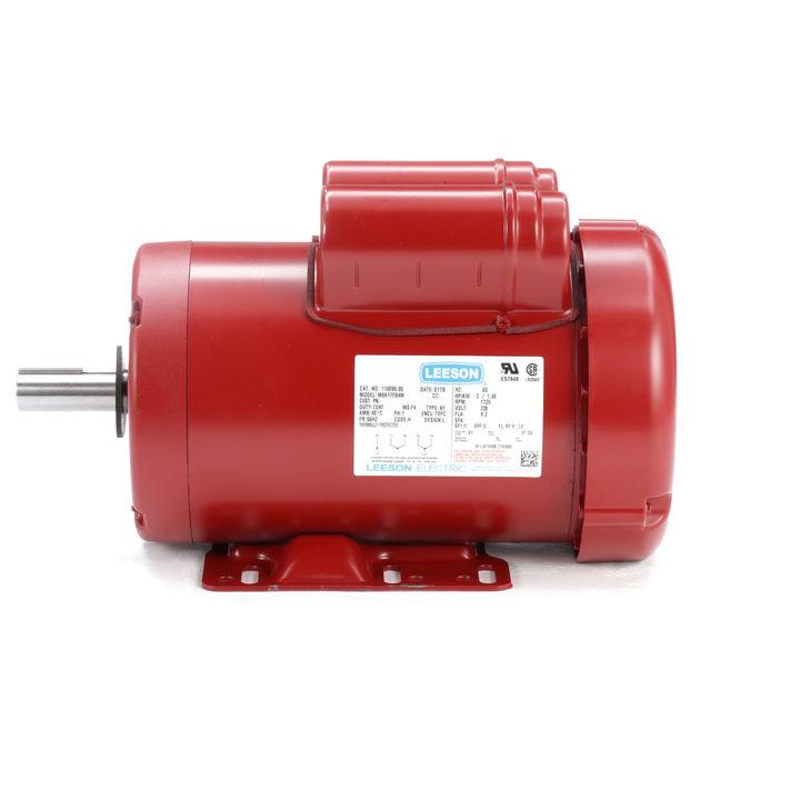 2hp leeson farm duty electric motor for Farm duty electric motor