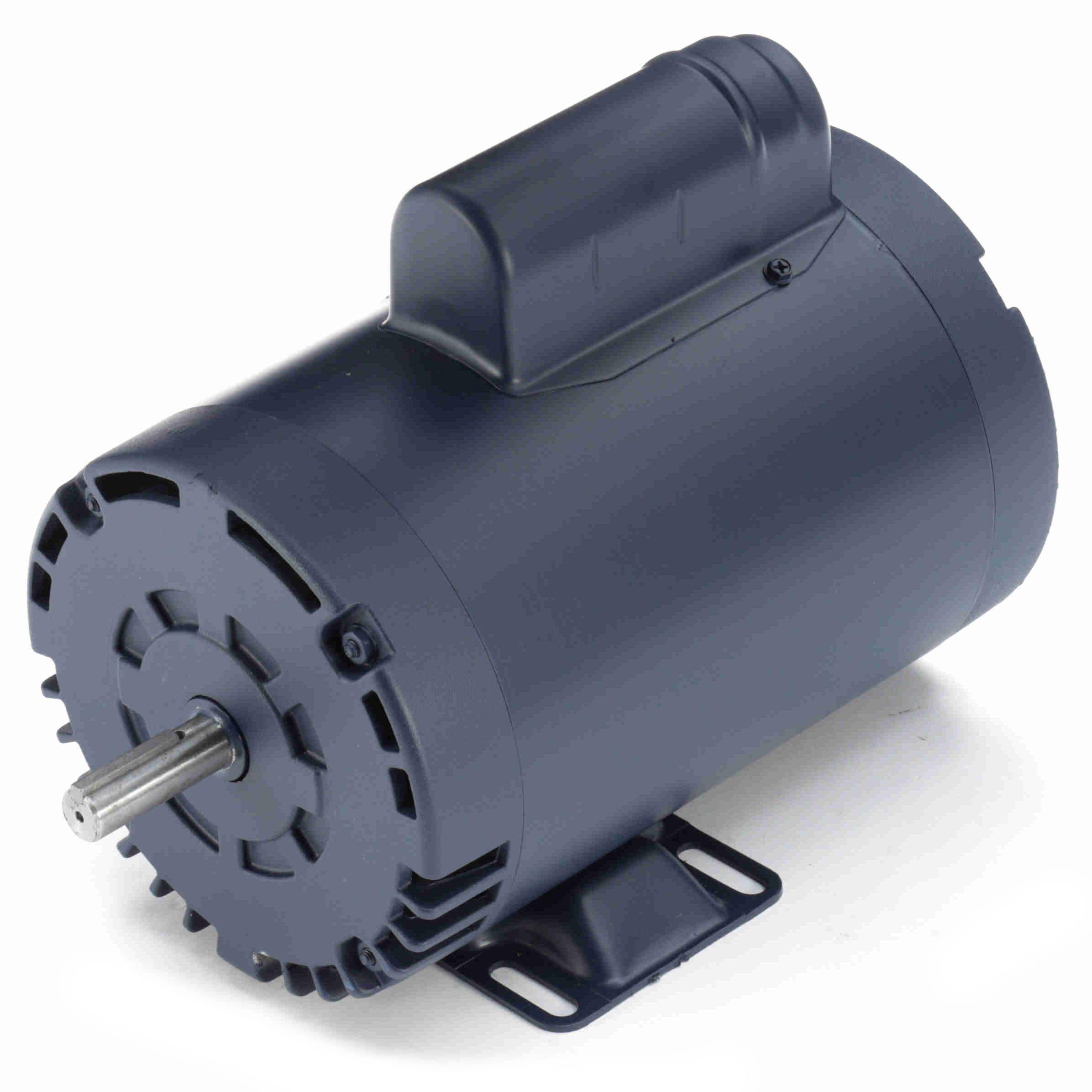 110222 00 Leeson 3HP Compressor Duty Electric Motor, 3600 RPM