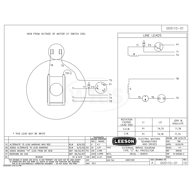 Wiring Manual PDF: 11 Lead Motor Wiring Diagram