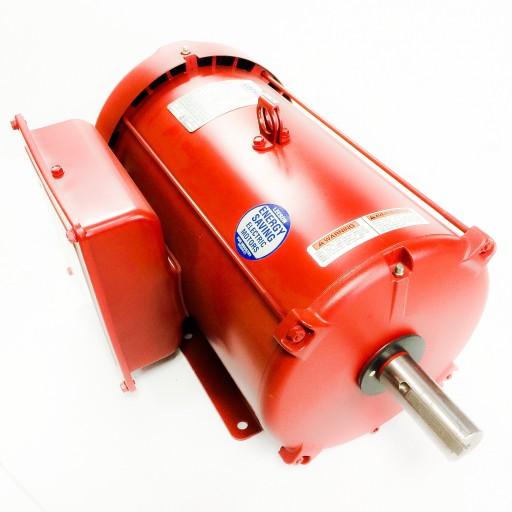 10hp leeson farm duty electric motor for Farm duty electric motor
