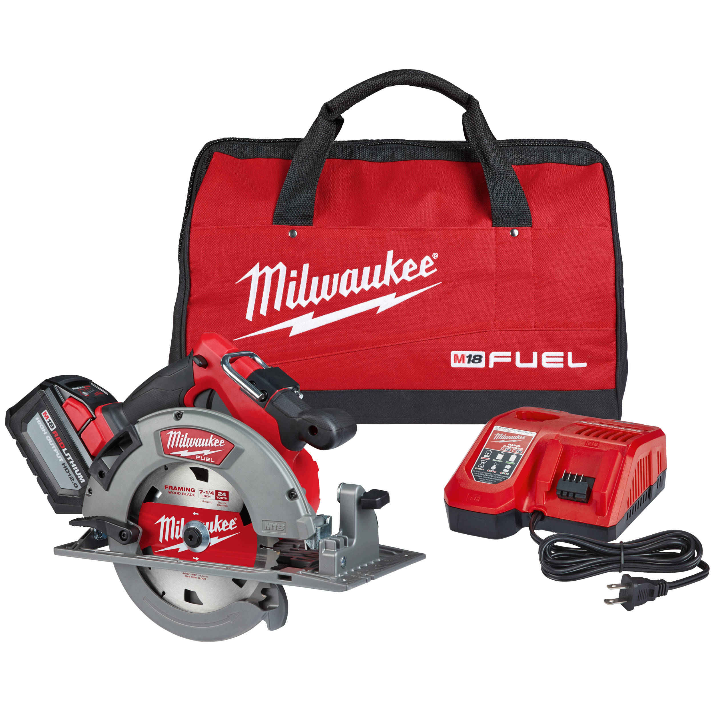 "2732-21HD M18 FUEL™ 7-1/4"" Circular Saw Kit"