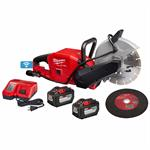 2786-22HD Milwaukee M18 FUEL™ 9^ Cut-Off Saw with ONE-KEY™ Kit