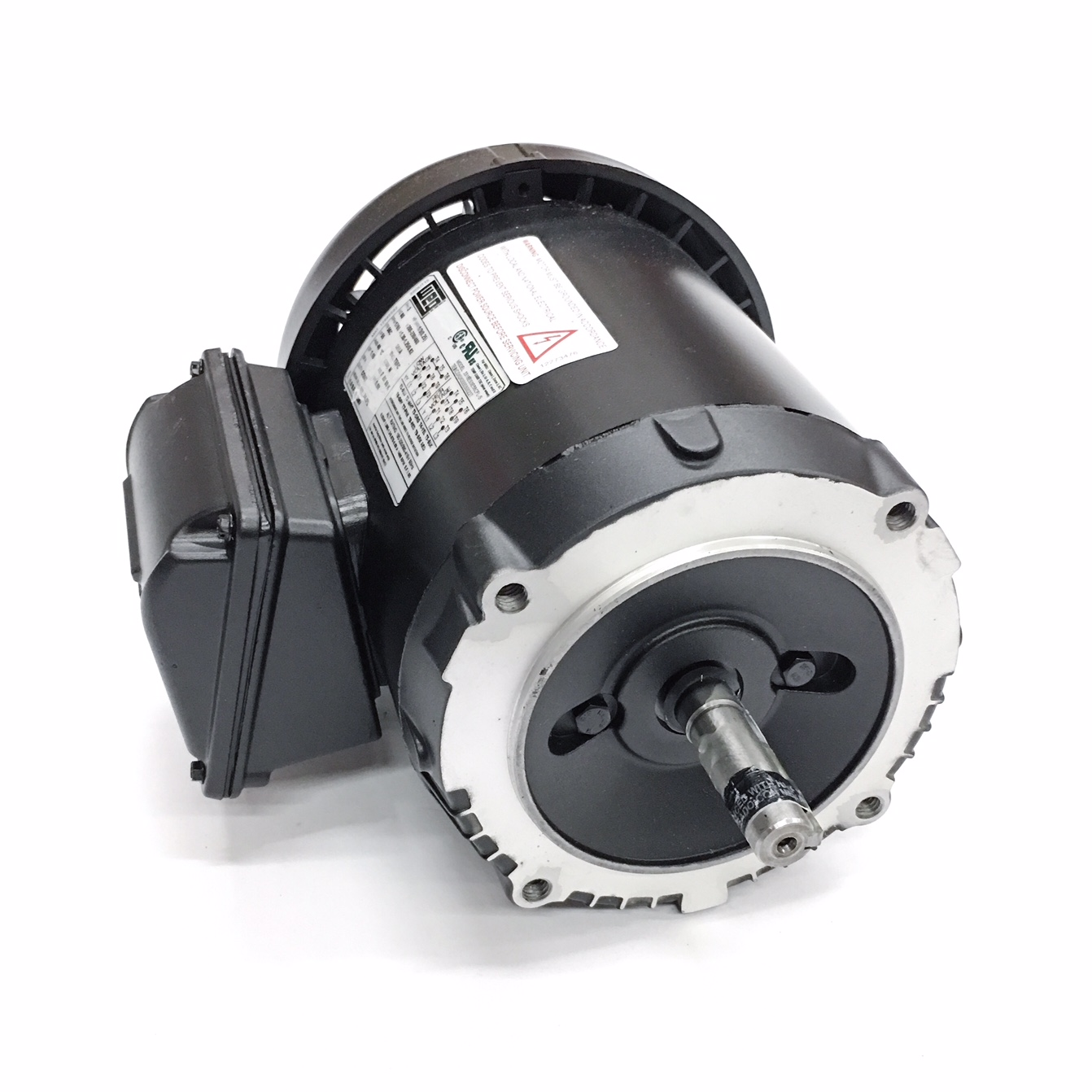 .3318ES3E56CFL-S WEG 3ph 1/3HP 1800RPM Motor 1