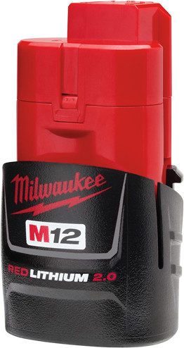 48-11-2420 Milwaukee M12 Redlithium™ 2.0 Ah Compact Battery