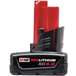 48-11-2440 Milwaukee M12™ Redlithium™ 4.0 Ah XC Battery