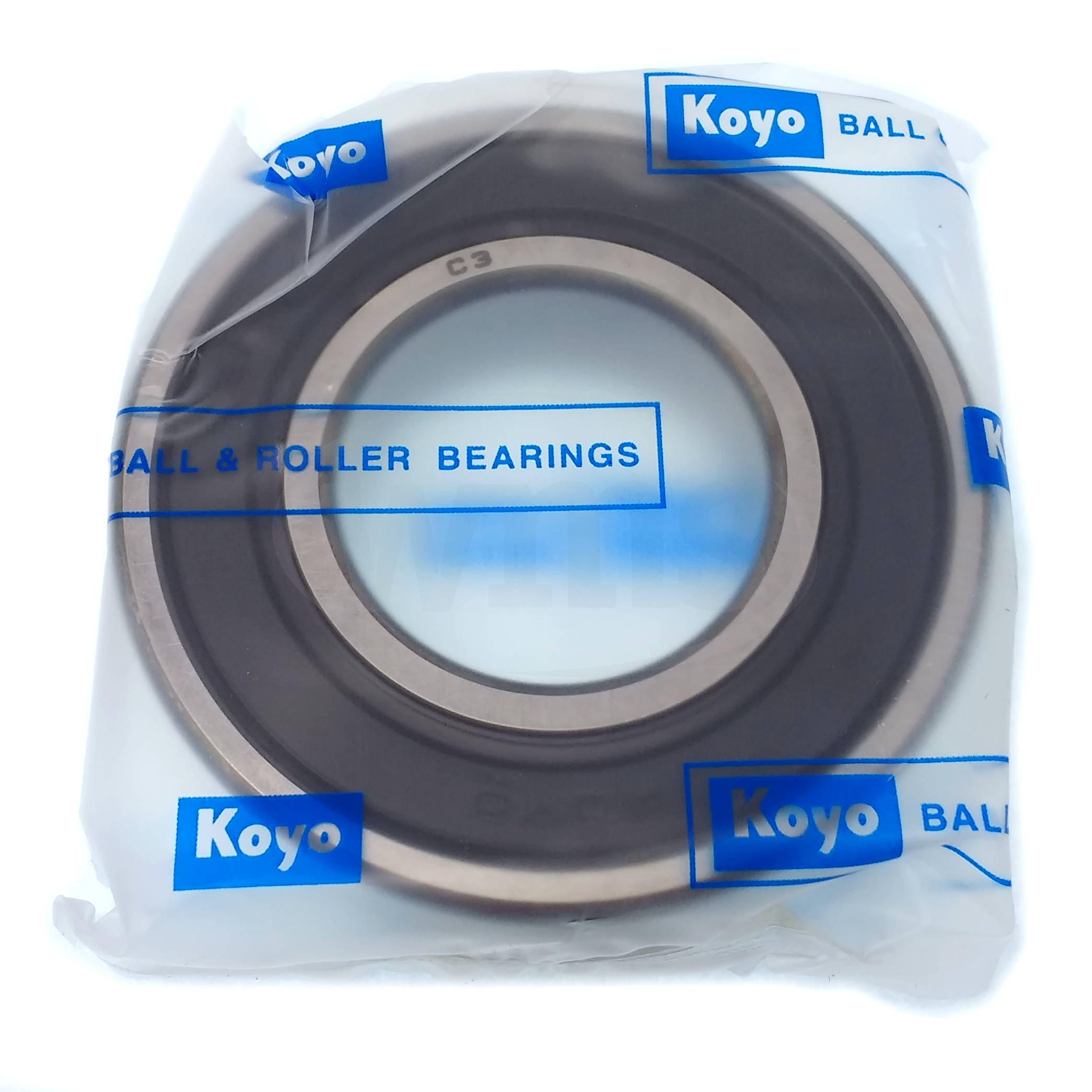 62062RDC3 Koyo Ball Bearing, Rubber Sealed 8