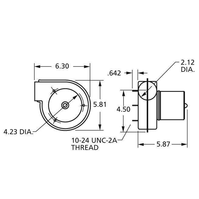 A073 Fasco Centrifugal Blower Electric Motor, 3200RPM