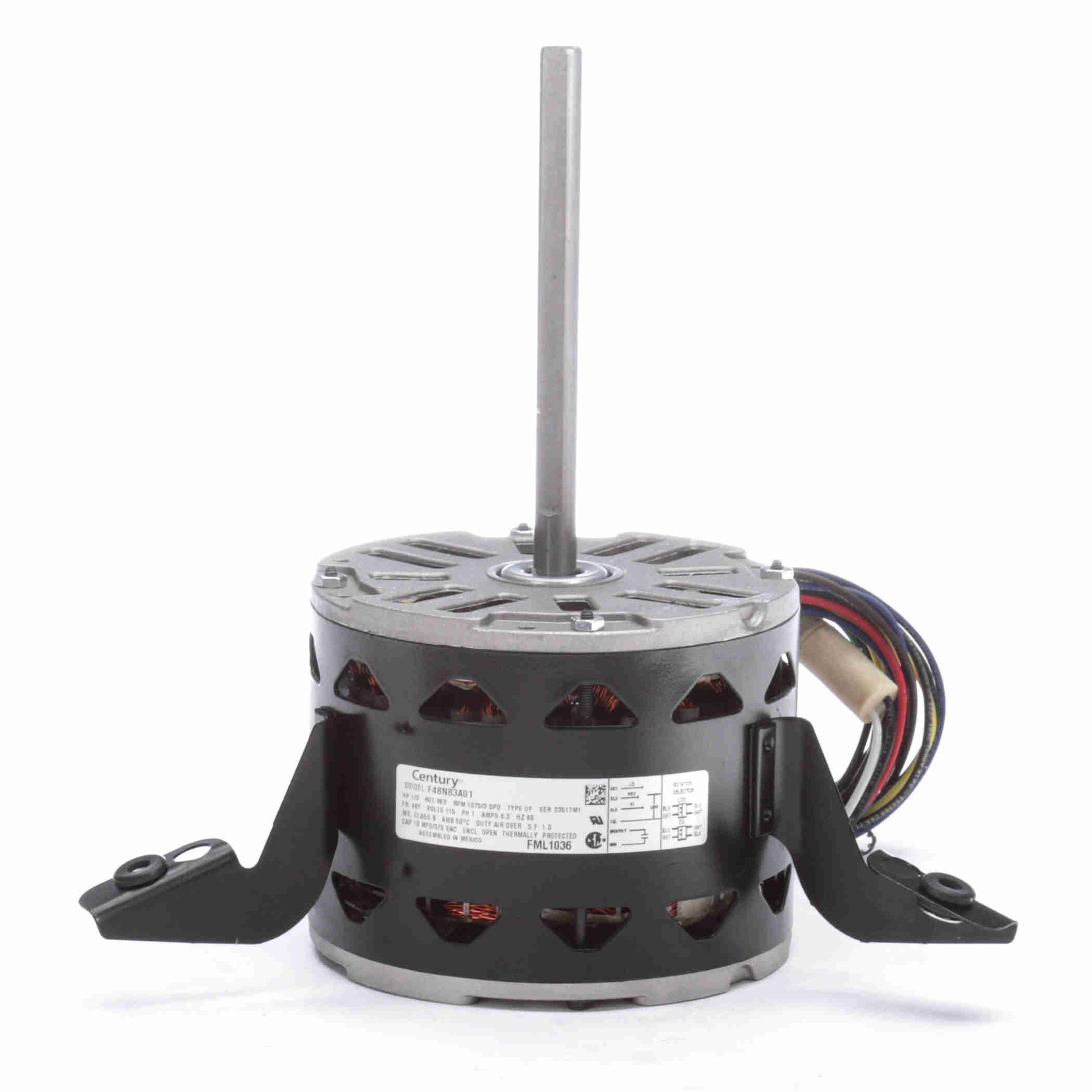 fml1036 century 1 3hp electric motor 1075 rpm. Black Bedroom Furniture Sets. Home Design Ideas