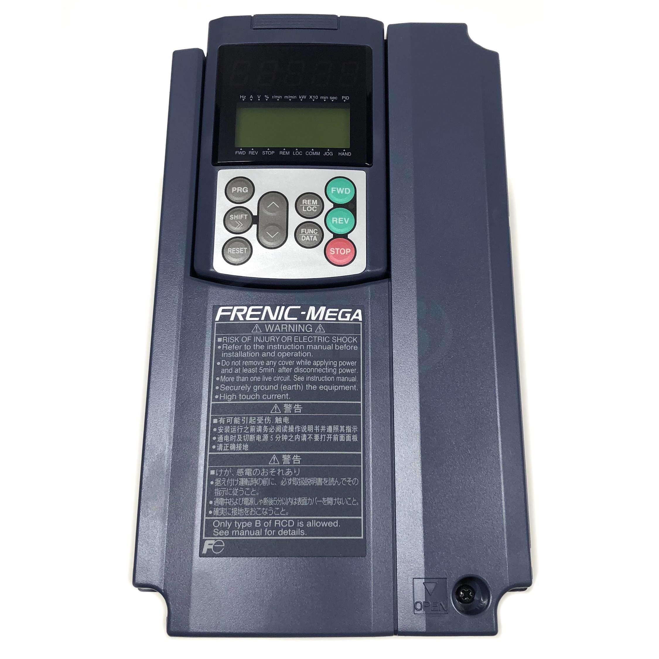 Frn003g1s 2u 3 Hp Fuji Frenic Mega Inverter Vfd 230v