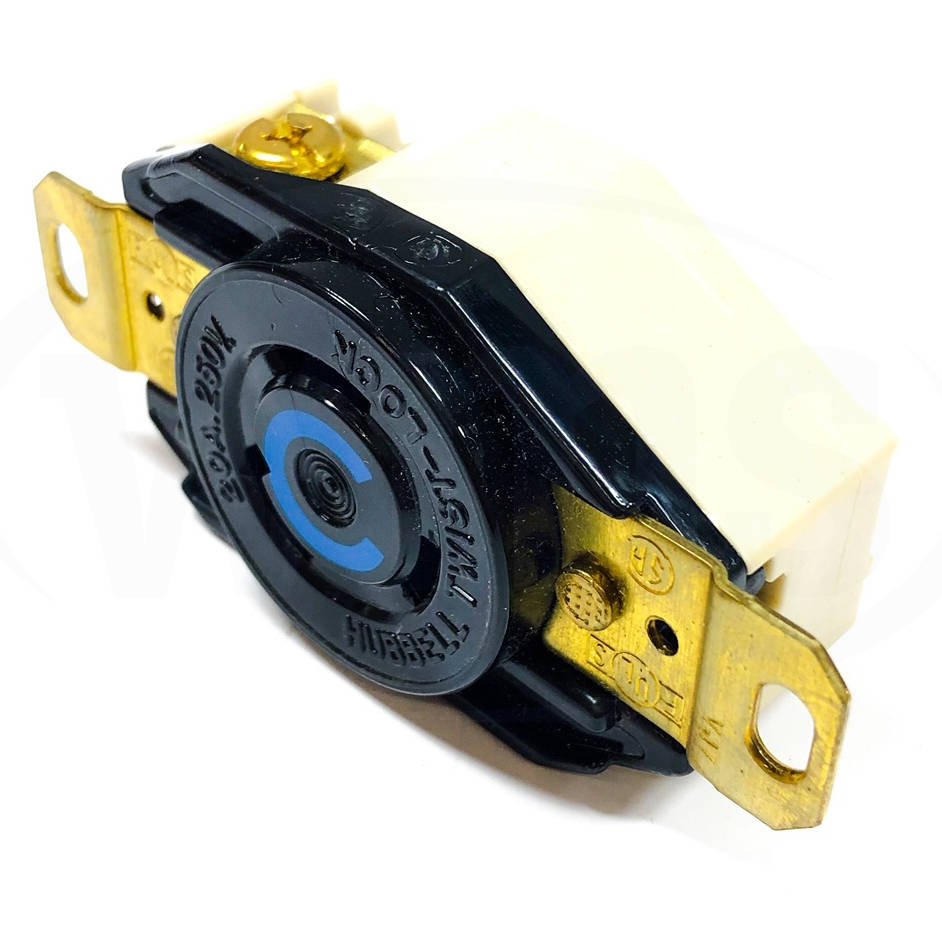 Hbl2320 Hubbell Twist Lock  Receptacle  2