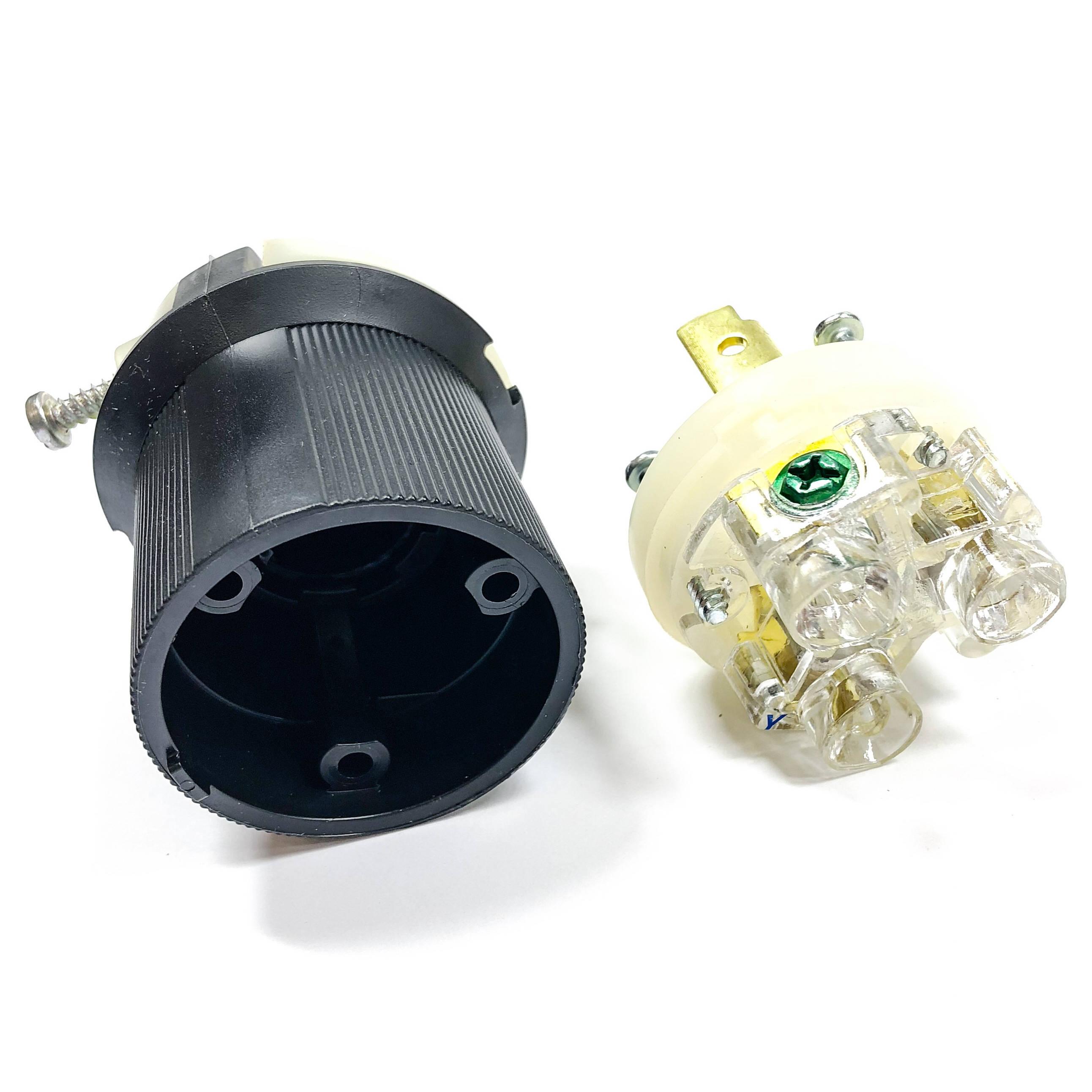 Hbl2621 Hubbell Insulgrip Twist Lock Plug