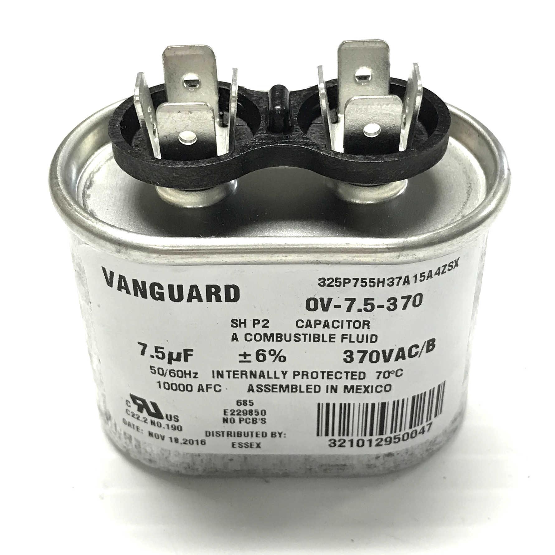 Ov 75 370 Vanguard Run Capacitor Vac F 40 Mfd Ac Motor Wiring Diagram Image01