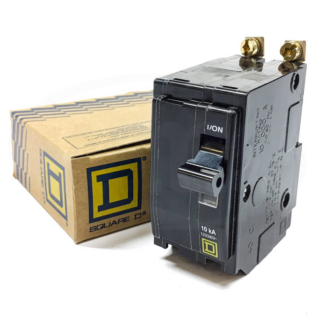 Square D Qo Circuit Breaker Catalog Qwikgard 20 Amp 2pole Gfci Breakerqo220gficp The Home Qob215 Mini 15a 1
