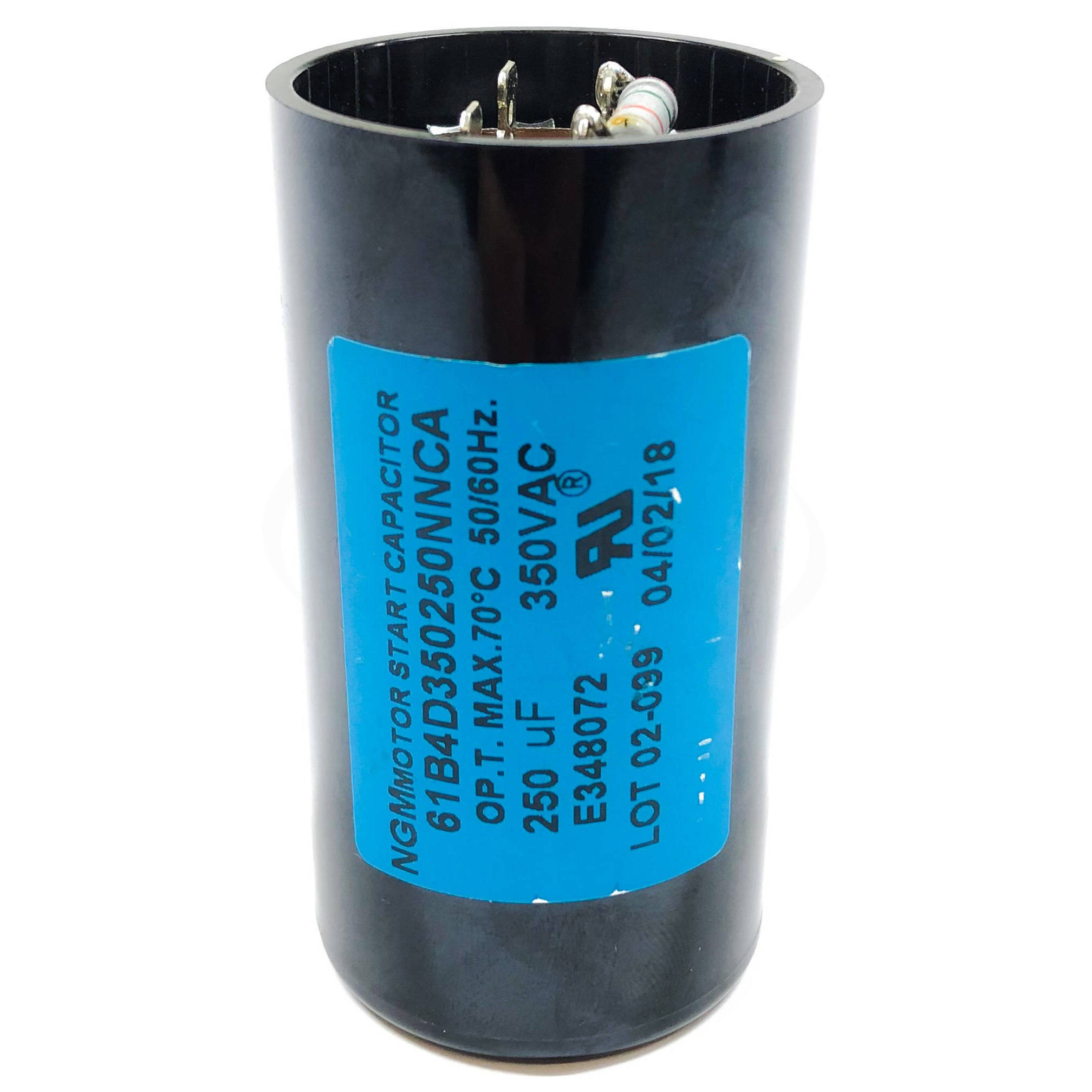 SCAP350V-250UF Techtop Start Capacitor, 350V 250uF 1